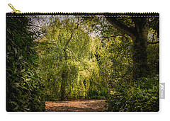 Carry-all Pouch featuring the photograph Weeping Willow by Ryan Photography
