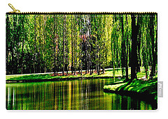 Weeping Willow Tree Reflective Moments Carry-all Pouch