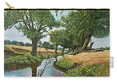Weeping Willows At Beverley Brook Carry-all Pouch