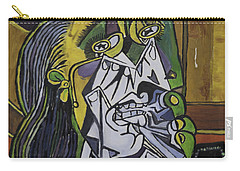 Picasso's Weeping Woman Carry-all Pouch