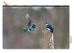Carry-all Pouch featuring the photograph Welcome Back by Gary Wightman
