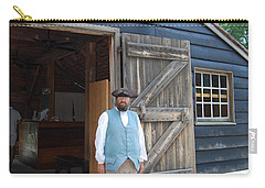 Carry-all Pouch featuring the photograph Welcome by Eric Liller