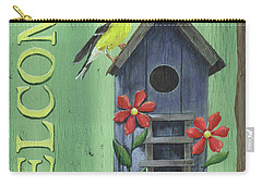 Welcome Goldfinch Carry-all Pouch