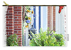 Carry-all Pouch featuring the photograph Welcome by Lena Wilhite
