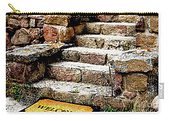 Welcome Steps Carry-all Pouch by Deborah Nakano