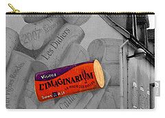 Carry-all Pouch featuring the photograph Welcome To Bordeaux by Joan  Minchak