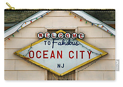 Welcome To Fabulous Ocean City N J Carry-all Pouch