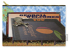 Welcome To Georgia Carry-all Pouch by Donna Brown