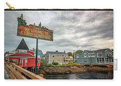 Carry-all Pouch featuring the photograph Welcome To Kennebunkport by Rick Berk