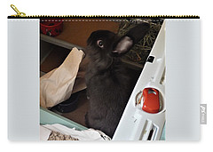 Carry-all Pouch featuring the photograph Welcome To My Humble Abode by Denise Fulmer