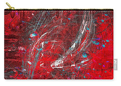 Carry-all Pouch featuring the digital art Welcome To My World  by Fine Art By Andrew David