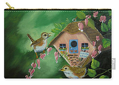 Welcome Wrens Carry-all Pouch