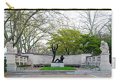 Welcoming To Freedom - Philadelphia Carry-all Pouch by Bill Cannon