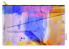 Carry-all Pouch featuring the painting Welder by Dominic Piperata