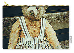 Well Advanced In Years Carry-all Pouch by Jutta Maria Pusl
