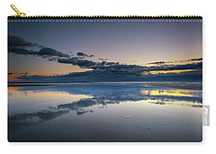 Carry-all Pouch featuring the photograph Wells Beach Reflections by Rick Berk