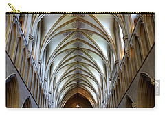 Wells Cathedral Ceiling  Carry-all Pouch by Lexa Harpell