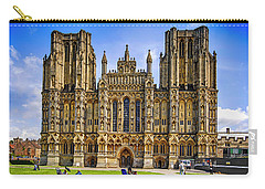 Wells Cathedral, Somerset Uk Carry-all Pouch