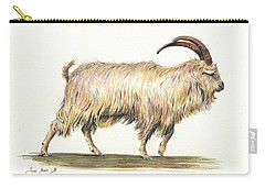Welsh Long Hair Mountain Goat Carry-all Pouch