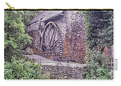 Carry-all Pouch featuring the photograph Welsh Mill by R Thomas Berner