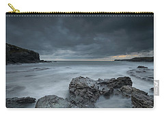 Welsh Seascape At Dusk. Carry-all Pouch