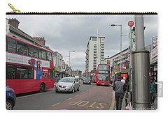 Carry-all Pouch featuring the photograph Wembley High Road - Northwest London by Mudiama Kammoh