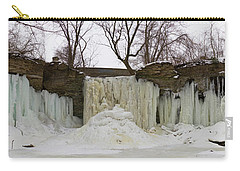 Carry-all Pouch featuring the photograph Wequiock Falls by Joel Witmeyer