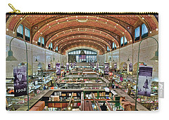 Carry-all Pouch featuring the photograph West 25th Street Market by Frozen in Time Fine Art Photography