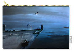 West Across The Ocean Carry-all Pouch by Joachim G Pinkawa