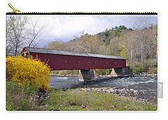 West Cornwall Ct Covered Bridge Carry-all Pouch
