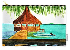 West End Roatan Carry-all Pouch by Donna Walsh