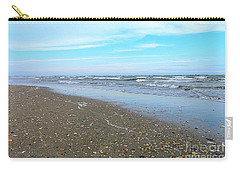 West End Seashells Carry-all Pouch by Shelia Kempf