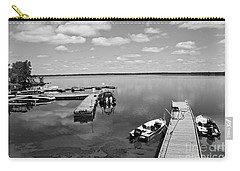 Carry-all Pouch featuring the photograph West Hawk Lake by Cendrine Marrouat
