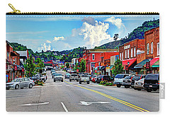 West Jefferson Streetscape Carry-all Pouch by Dale R Carlson