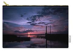 West Lake Toho Blu Indigo Sunset Carry-all Pouch