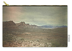 Carry-all Pouch featuring the photograph West by Mark Ross