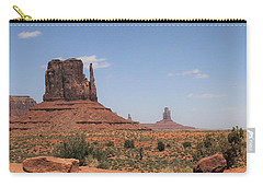 West Mitten Butte Monument Valley Carry-all Pouch