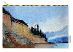 Carry-all Pouch featuring the painting West Of Dungeness by Nancy Merkle