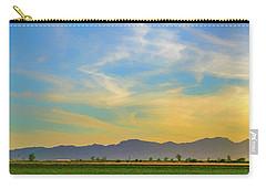 West Phoenix Sunset Digital Art Carry-all Pouch