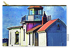 Carry-all Pouch featuring the digital art West Point Up Close by Kirt Tisdale
