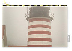 West Quody Head Lighthouse Carry-all Pouch by Brent L Ander