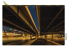 Carry-all Pouch featuring the photograph West River Road by Randy Scherkenbach