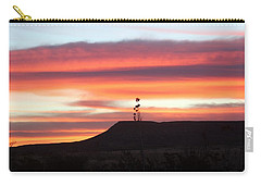 Mile Marker 122 West Texas Sunrise Carry-all Pouch
