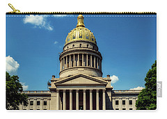 West Virginia Capitol - Charleston Carry-all Pouch by L O C