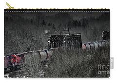 Westbound Grain II Carry-all Pouch by Brad Allen Fine Art
