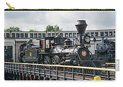 Western And Atlantic 4-4-0 Steam Locomotive Carry-all Pouch by John Black