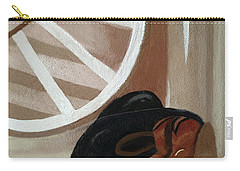 Western Art Work For Luke Carry-all Pouch