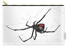 Western Black Widow - Color Carry-all Pouch