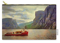 Western Brook Pond Carry-all Pouch by Jeff Kolker