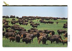 Western Kansas Buffalo Herd Carry-all Pouch